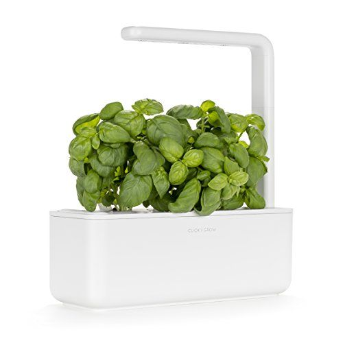 Click Grow Smart Garden 3 Indoor Fresh Herb Growing K Https Www Amazon Com Dp B01mrvmkqh Ref C Indoor Gardening Kit Indoor Herb Garden Herb Garden Kit