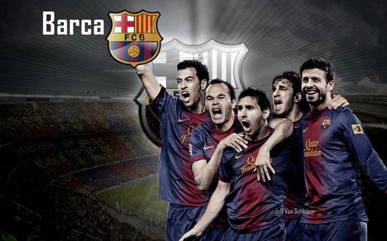 Barcelona FC 2012-2013 HD Best Wallpapers