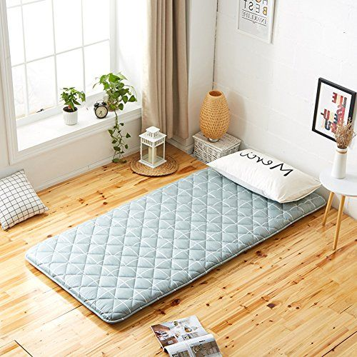 Qwertyui Japanese Style Folding Tatami Mattress Thicken Light