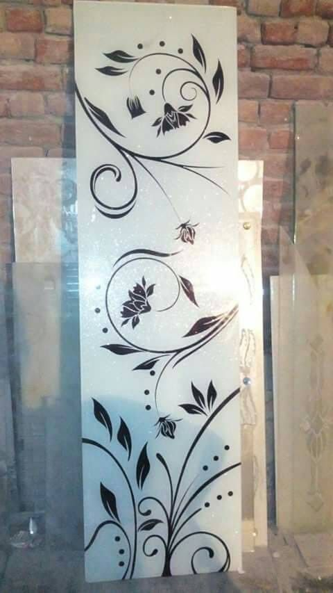 Lacquer Glass Design Doors In 2019 Frosted Glass Design