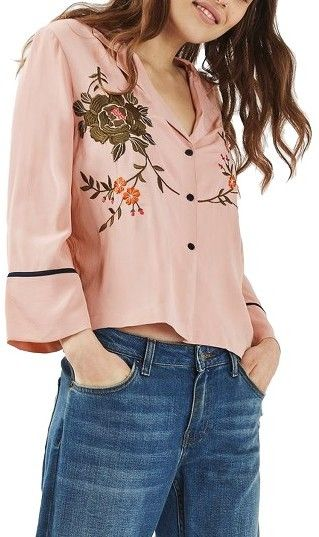 Dizzy Embroidered Tops