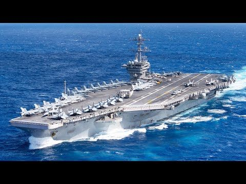 Taking Off From The Aircraft Carrier Uss Theodore Roosevelt Flight Operations Youtube In 2020 Uss Theodore Roosevelt Navy Aircraft Carrier Aircraft Carrier