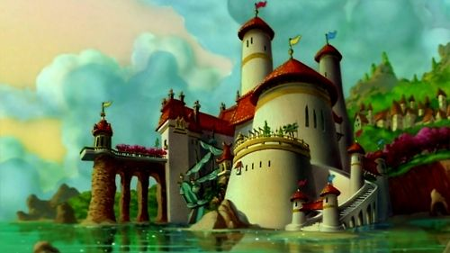 8. I wish I lived in Eric and Ariel's castle because it is right on the ocean and I love how it is designed! <3