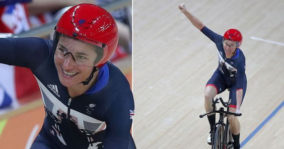 The 38-year-old pipped Crystal Lane in the 3,000m track cycling as Team GB won…