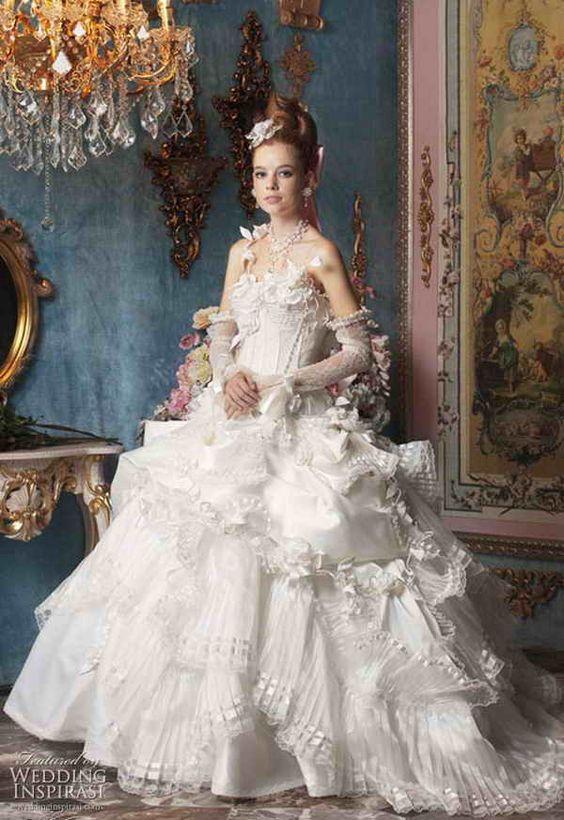 Vintage Wedding Dresses Bath : Vintage bridal shower wedding dresses with color exotic