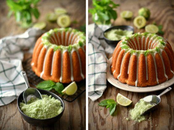 Coconut Mojito Bundt Cake