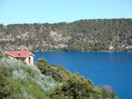 Blue Lake, Mt Gambier, SA, Australia