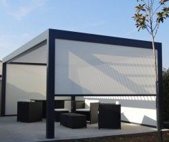 pergola bioclimatique avis. Black Bedroom Furniture Sets. Home Design Ideas