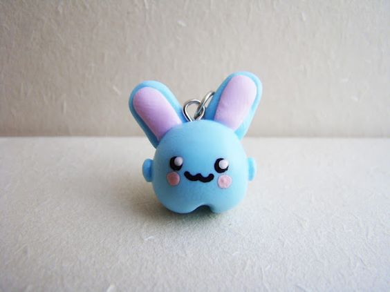 daily stuff and juicy secrets: [153] Fimo-Tutorial: Marshmallow Bunny