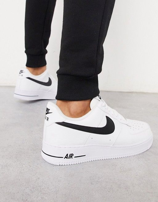 Mujer hermosa cristiano Mejorar  Nike Air Force 1 '07 trainers in white | ASOS | Nike air shoes, Nike air,  Nike