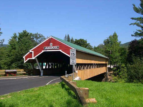 Honeymoon Bridge, Jackson, NH