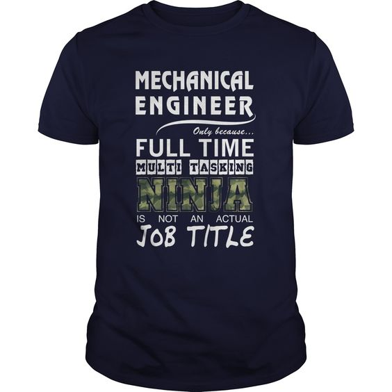 Mechanical Engineer T-Shirts, Hoodies. VIEW DETAIL ==► https://www.sunfrog.com/Jobs/Mechanical-Engineer-90858011-Navy-Blue-Guys.html?id=41382