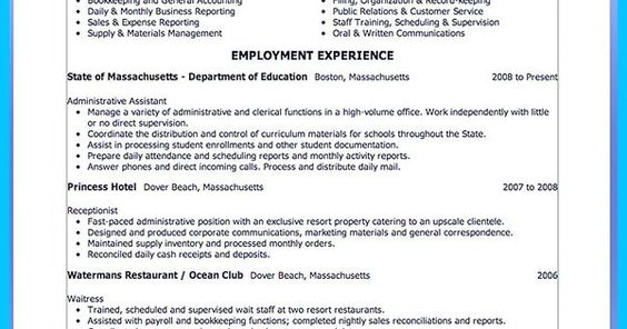 Writing a Great Assistant Property Manager Resume share Pinterest - entry level public relations resume