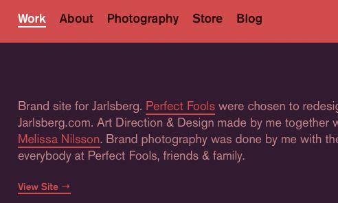 Fonts Used: Akzidenz Grotesk #Typewolf Typography Inspiration