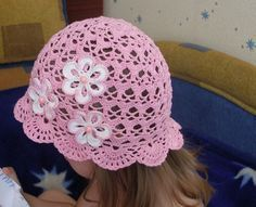 Summer hat crochet for babies ~ Craft , handmade blog