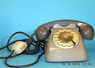 """Italy 60 / 70.Telefono disc of the only existing"""" SIP"""" phone company"""