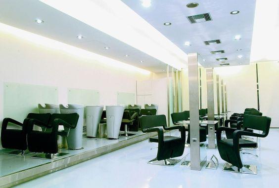 Beauty Salon Furniture for Gamma & Bross - Design by F.A. Porsche