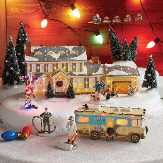 Department 56 Christmas Vacation 7 Piece Set National Lampoons Christmas Vacation Lampoon S Christmas Vacation Griswold Christmas
