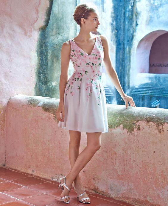 Lauren Ralph Lauren Floral-Print V-Neck Dress