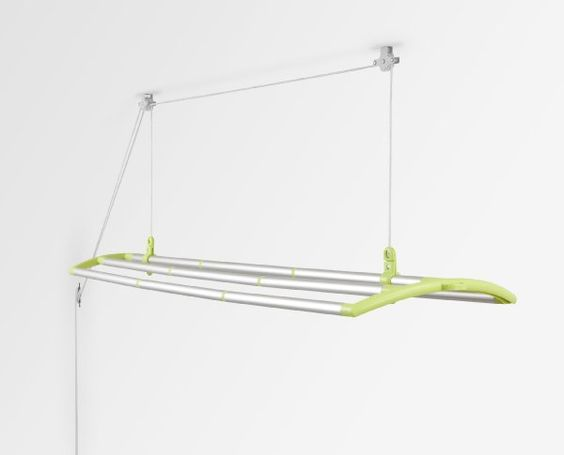 lofti ceiling mounted laundry drying system lime green. Black Bedroom Furniture Sets. Home Design Ideas