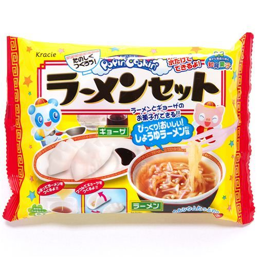 DIY candy kit Popin' Cookin' Ramen Kracie from Japan