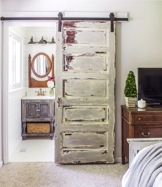 Superior DIY Farmhouse Style Decor Ideas   Barn Door Tutorial   Rustic Ideas For  Furniture, Paint Colors, Farm House Decoration For Living Room, Kitchen And  Bedroom ...