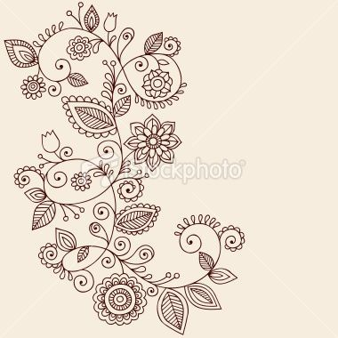 #Paisley Flower | http://awesome-wonderful-tatoos.blogspot.com