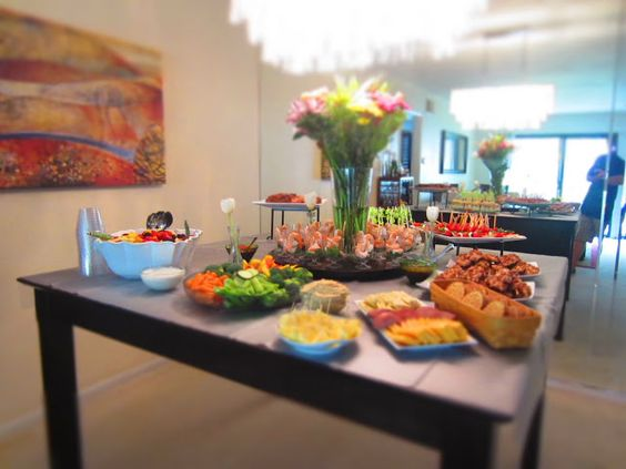 New blog post housewarming party gluten free food menu for Housewarming party food menu