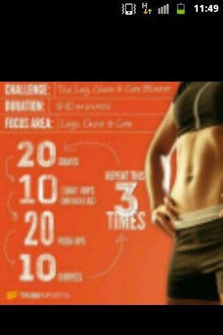 Good workout!