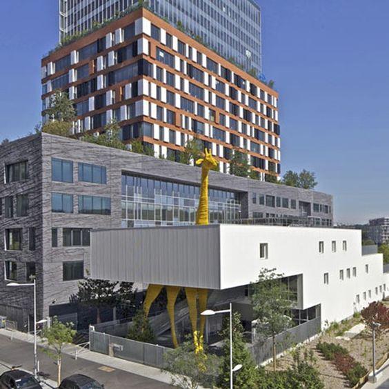Crèche de la Girafe par Hondelatte Laporte Architectes - Journal du Design