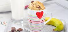 Es gibt kaum etwas praktischeres als einen Tassenkuchen. Für sich allein oder zu zweit als schnelles Dessert oder als süßes Frühstück.
