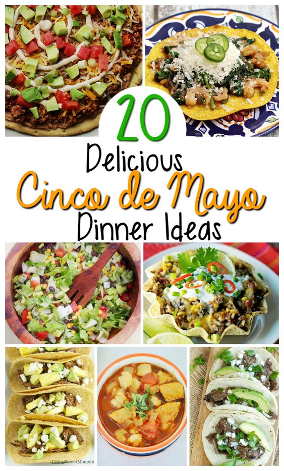 Mexican Food Recipes For Cinco de Mayo - Oh My Creative