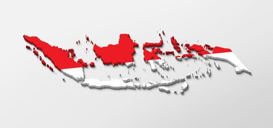 3d Indonesian Map Peta Indonesia | Pin Map, Independence Day Greeting  Cards, Powerpoint Presentation Design