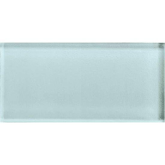 American olean color appeal glass   c106 moonlight   3x6 brick ...