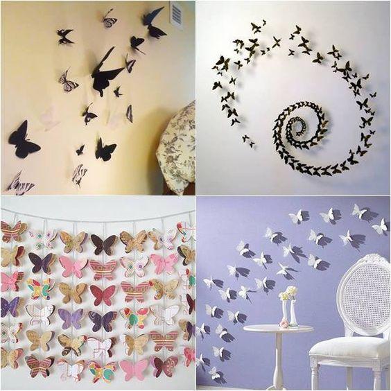 diy borboletas
