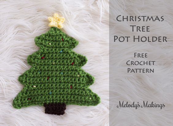 Free Crochet Pattern For Mini Christmas Tree : Trees, Free pattern and Christmas trees on Pinterest