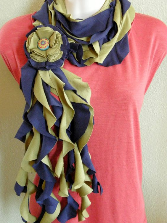 T-shirt scarves: