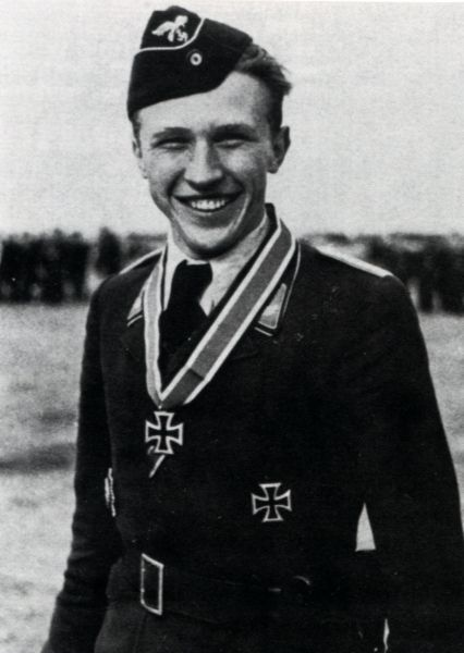 ✠ Horst Hannig (November 13th, 1921 - May 15th, 1943) He was shot down by Squadron Leader J. Charles leading Yellow Section of No. 611 Squadron, RK 09.05.1942 Leutnant Flugzeugführer i. d. 5./JG 54 03.01.1944 [364. EL] Leutnant Staffelführer 2./JG 2