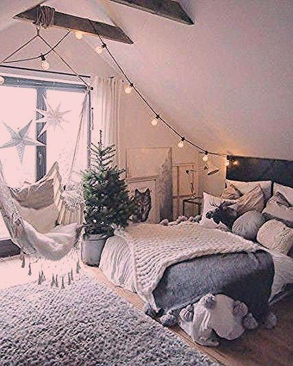 Bedroom Minimalist Bedroom Master Bedroom Organazation Bedroom White Bedroom Bohemian Bedroom Boho Bedr In 2020 Attic Bedroom Designs Luxurious Bedrooms Modern Bedroom