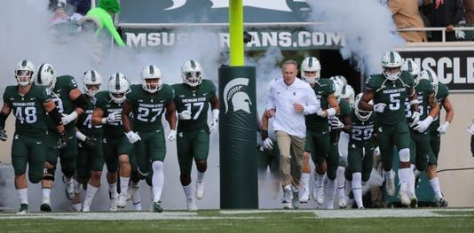 Michigan State Spartans Football Schedule 2019 Times Tv Results Michigan State Spartans Football Michigan State Football Michigan State