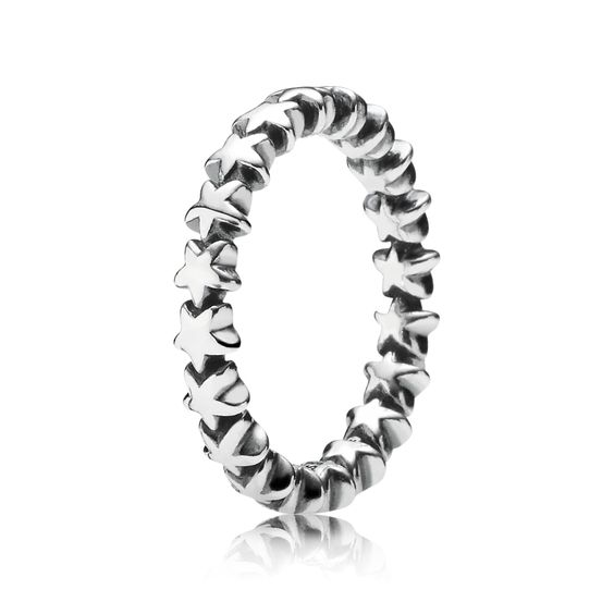 Stars silver ring | PANDORA eSTORE