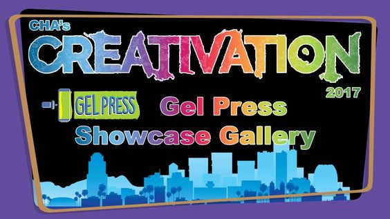 Gel Press Showcase Gallery - Creativation 2017 - http://www.craftsbytwo.com/video-5/ We learned a lot attending the Gel Press Academy and fell in love with the Gel Press. Join us for a walk through of the gallery in their booth to see the amazing art created with the Gel Press!
