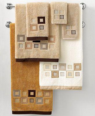 Avanti Bath Towels, Premier Metropolis Collection