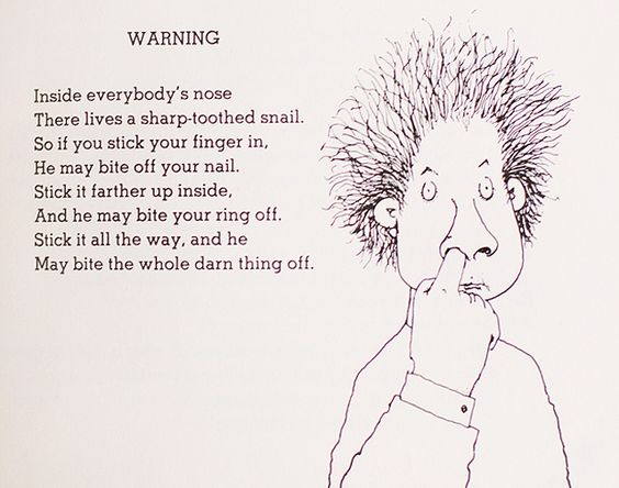 math worksheet : my favorite shel silverstein poem i found in 2nd grade of course  : Poems For 2nd Graders To Memorize