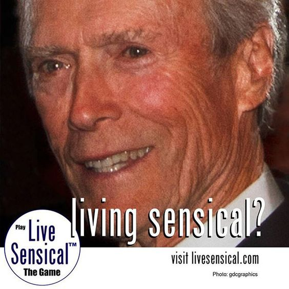 Clint Eastwood - #livesensical