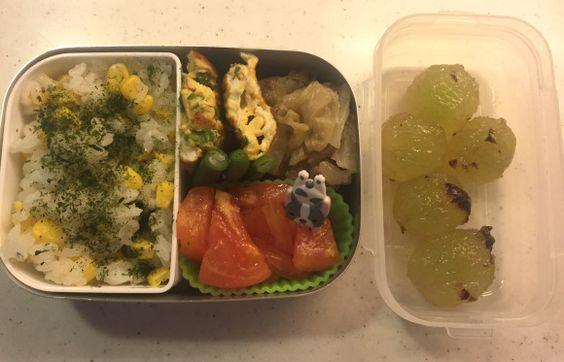 Kindergarten bento – Dinner leftover (23/Sep/16) | SMALL TOKYO KITCHEN