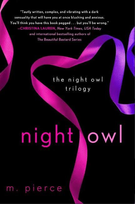 Night Owl by M. Pierce Paperback Cover Reveal and Giveaway