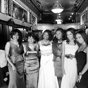 Lovely ladies #bride #bridesmaids #family #weddings @thethaxtonstl