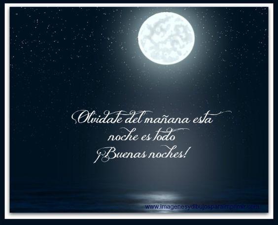 Imagenes De Buenas Noches Con Luna