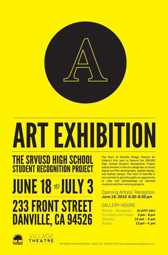 Resultat d'imatges de art exhibition posters